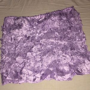 Tops - One size fits most strapless tank top purple.